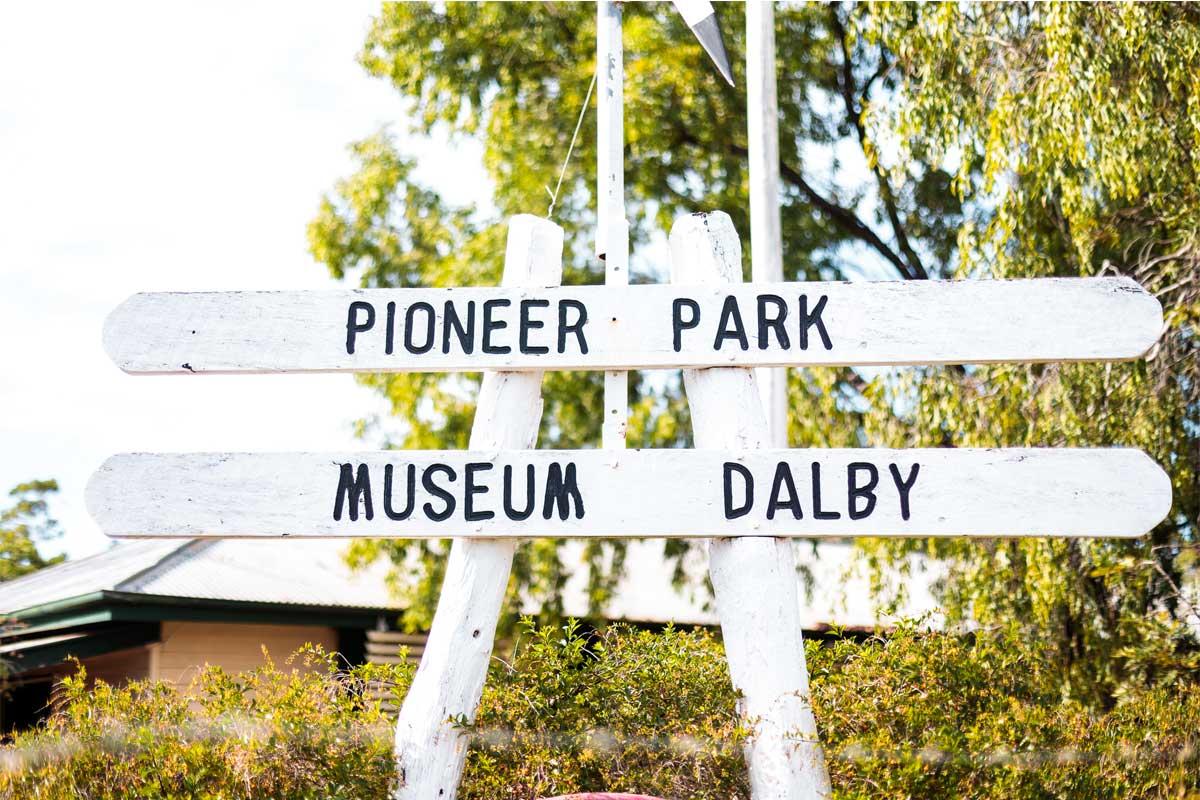 pioneer park musuem signage