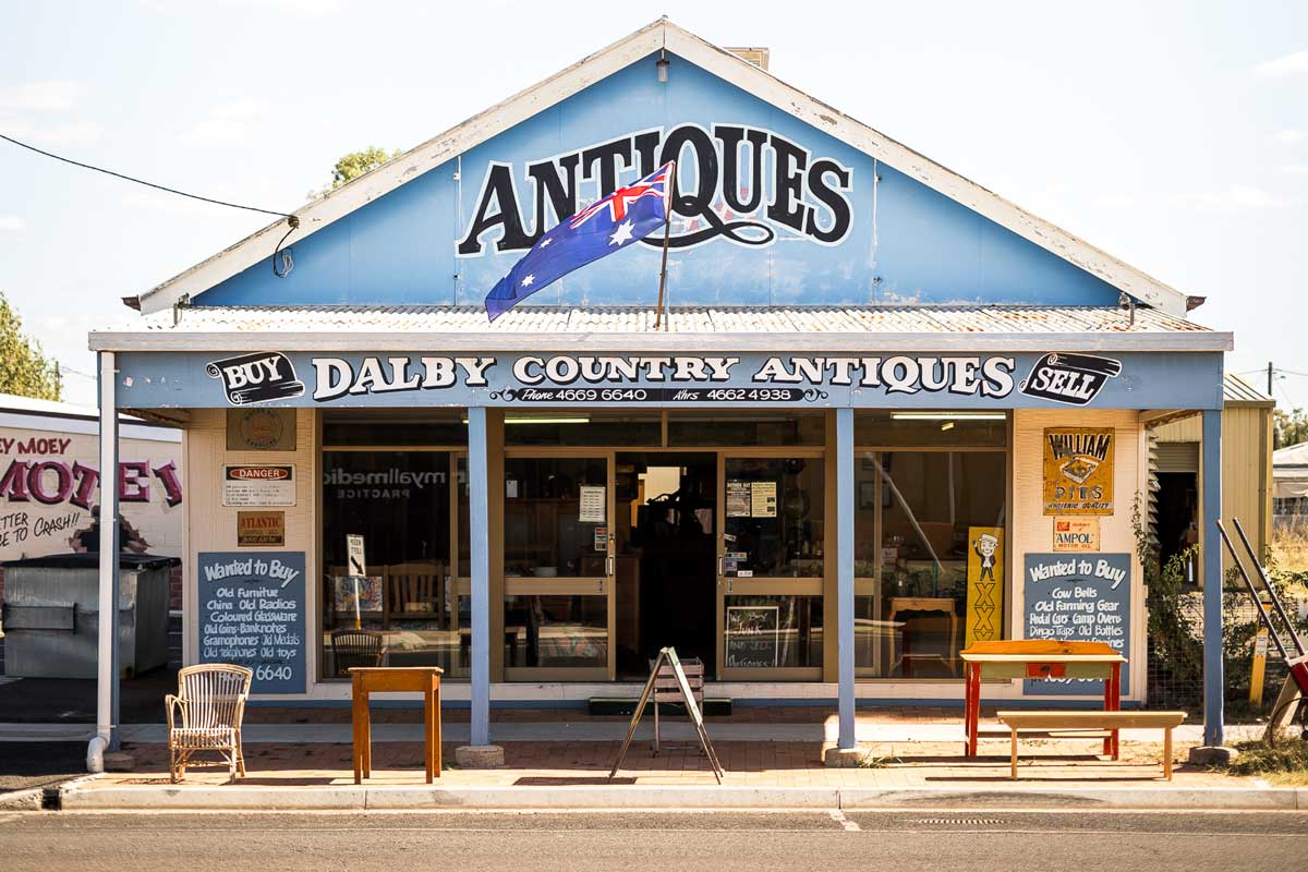 dalby antiques store