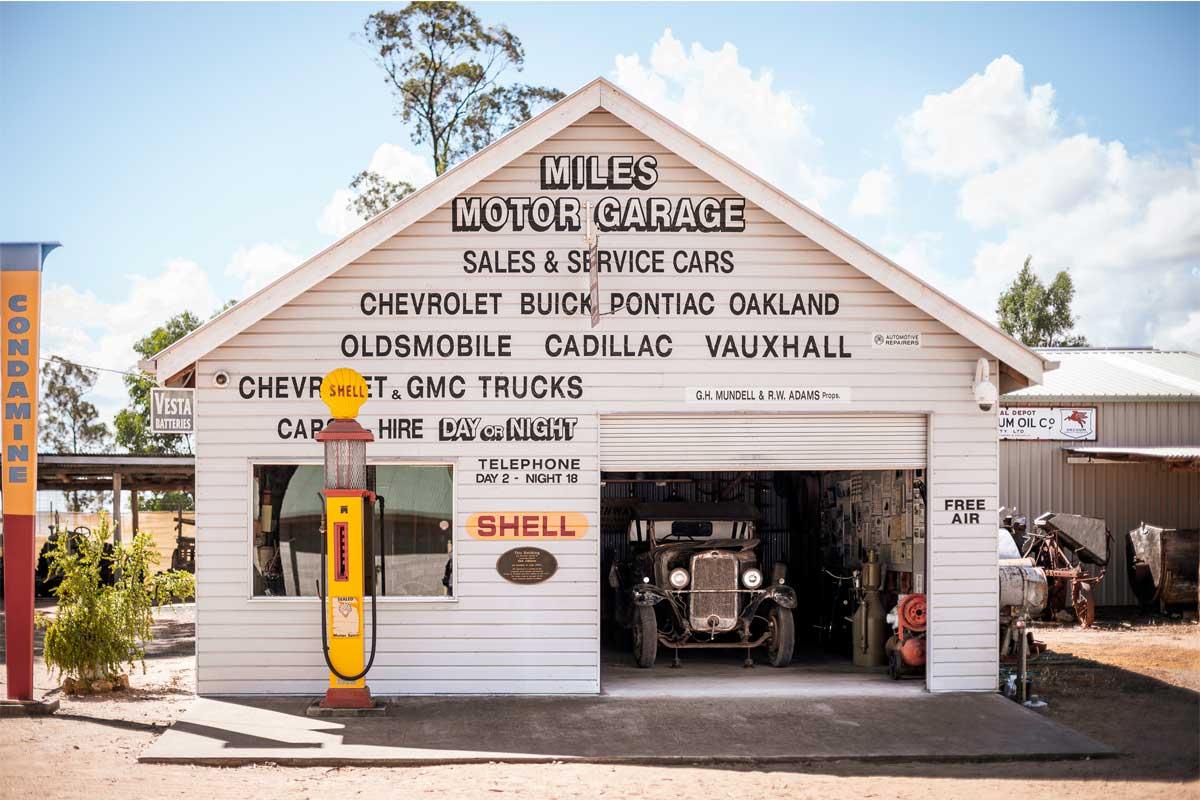 Miles Motor Garage